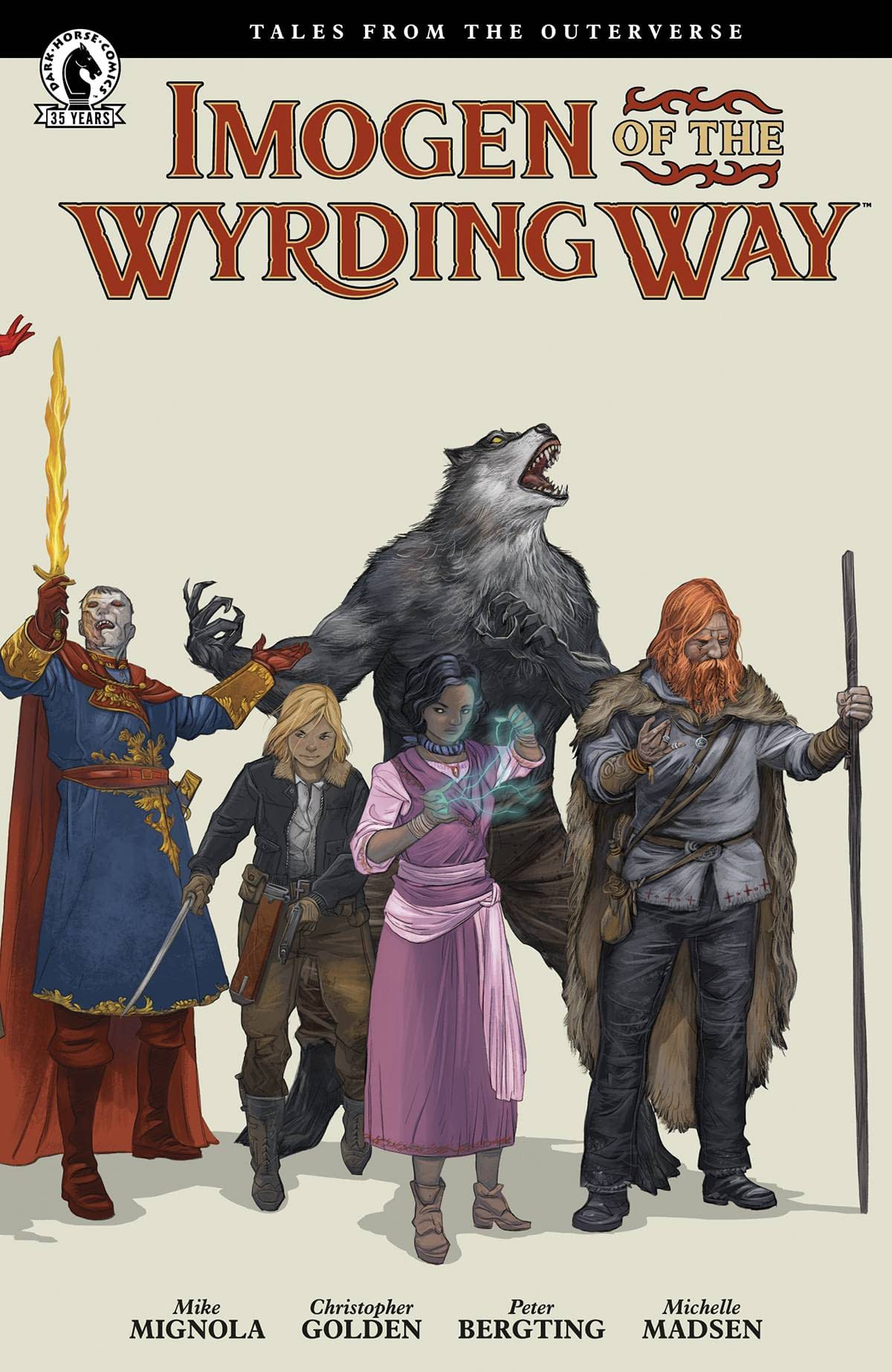 IMOGEN OF WYRDING WAY CVR B BERGTING (ONE-SHOT)