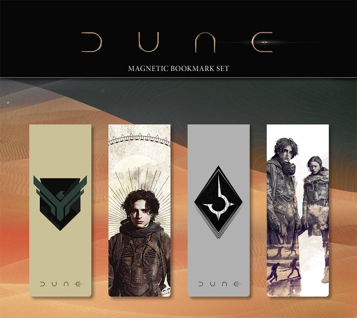 DUNE MAGNETIC BOOKMARK SET #2