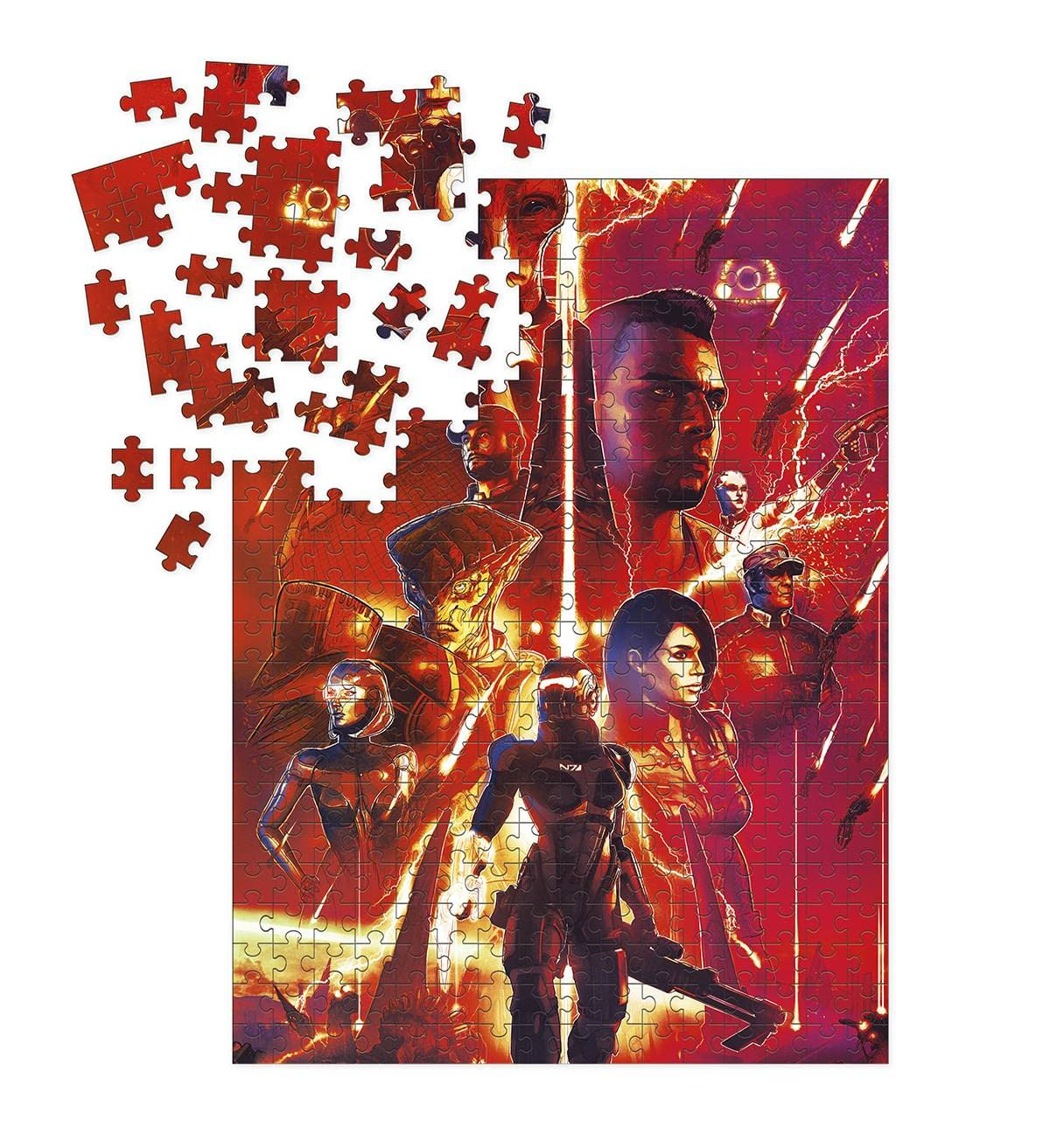MASS EFFECT LEGENDS PUZZLE