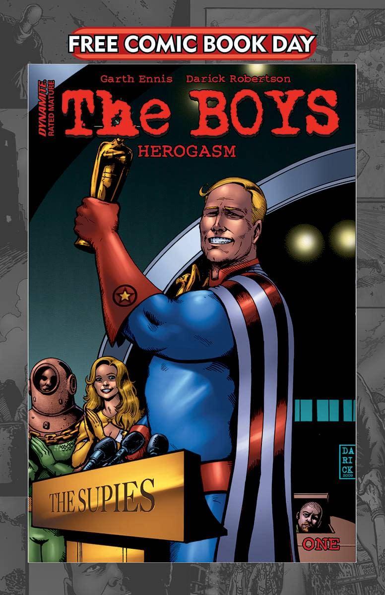 FCBD 2021 THE BOYS HEROGASM #1 (MR)