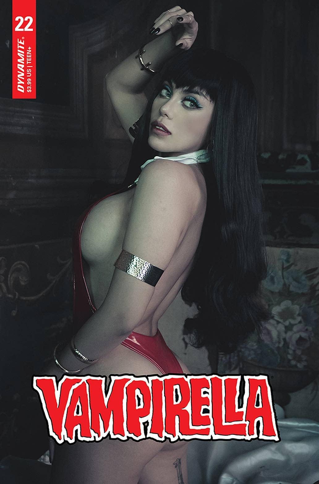 VAMPIRELLA #22 CVR E LORRAINE COSPLAY