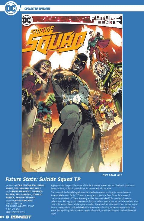 Belligerent DC Comics Finally Releases June 2021 Solicitations