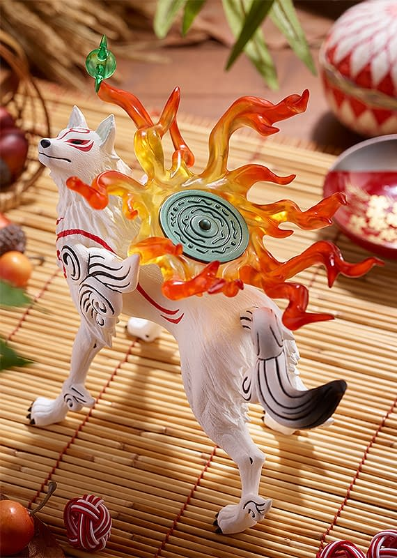 Okami Joins Good Smile Company With New Pop Up Parade Statue