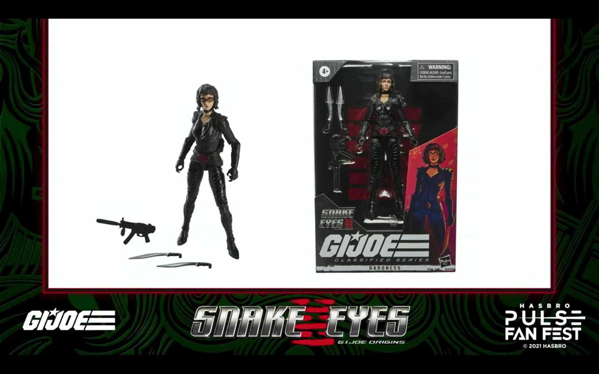 GI Joe Classified & Snake Eyes Reveals Take Over Hasbro Fan Fest