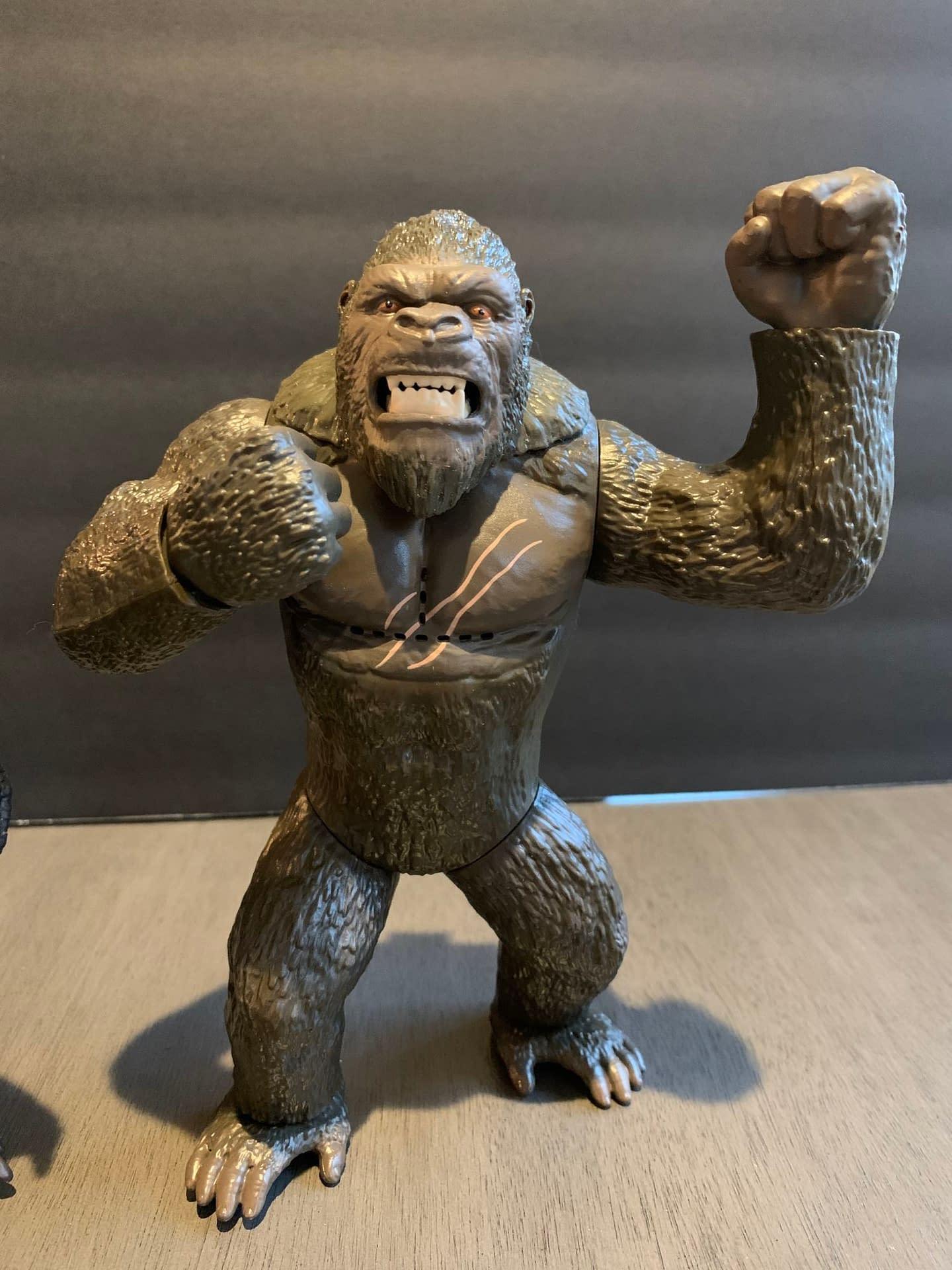 Godzilla Vs Kong Playmates Figures Are Big Dumb Fun