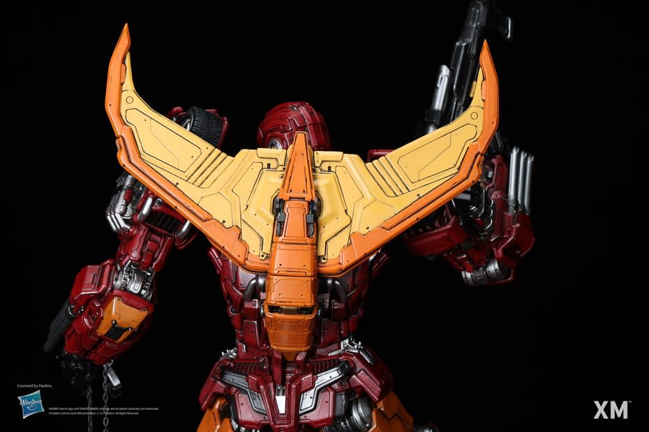 Transformers Rodimus Prime Gets New Mighty Statue From XM Studios