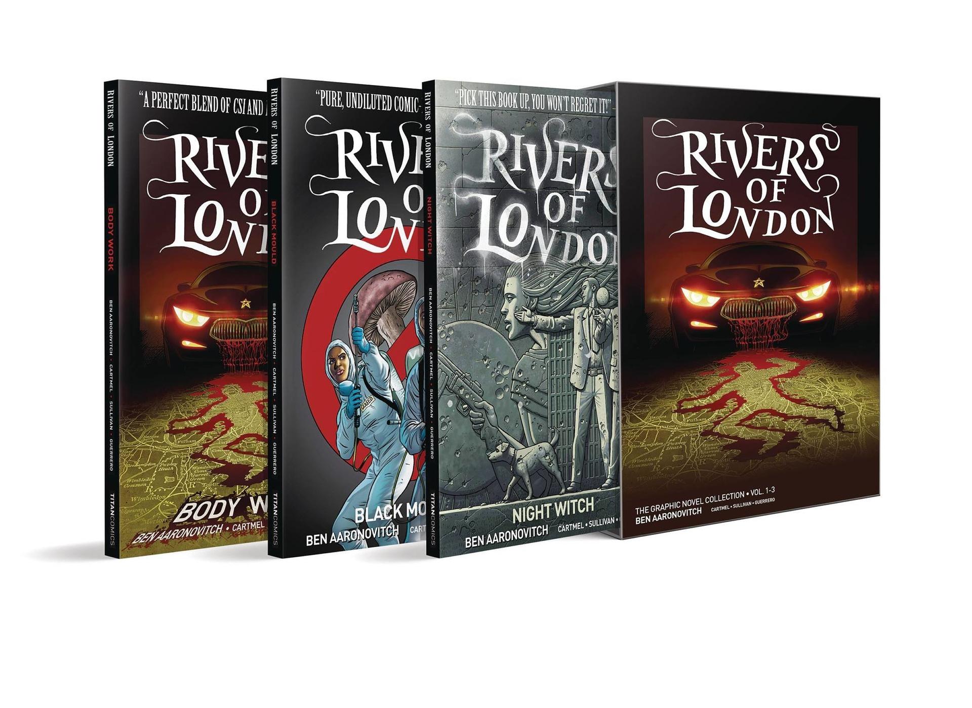 RIVERS OF LONDON TP VOL 01-03 BOX SET ED (O/A) (MR)