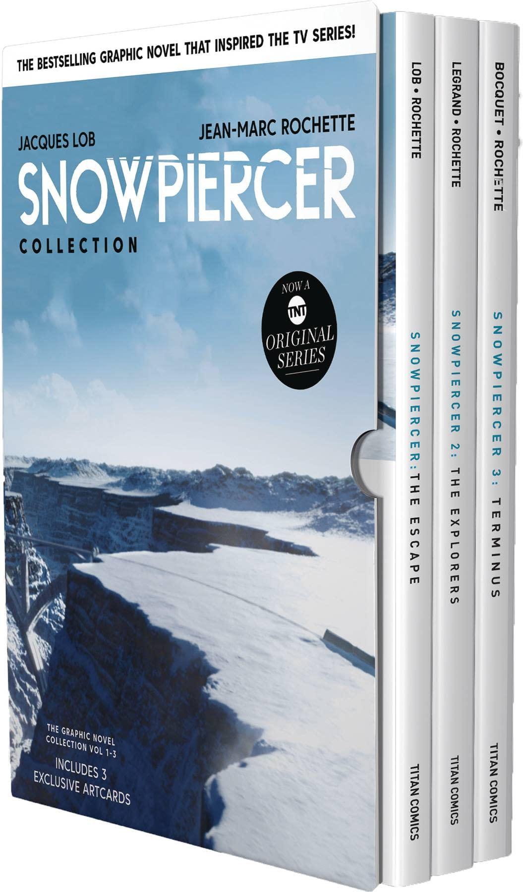 SNOWPIERCER VOL 1-3 HC BOX SET (RES) (MR)