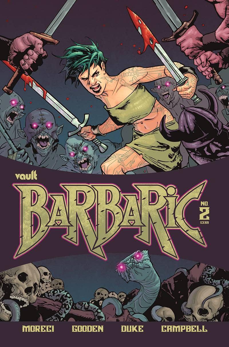 BARBARIC #2 CVR A GOODEN