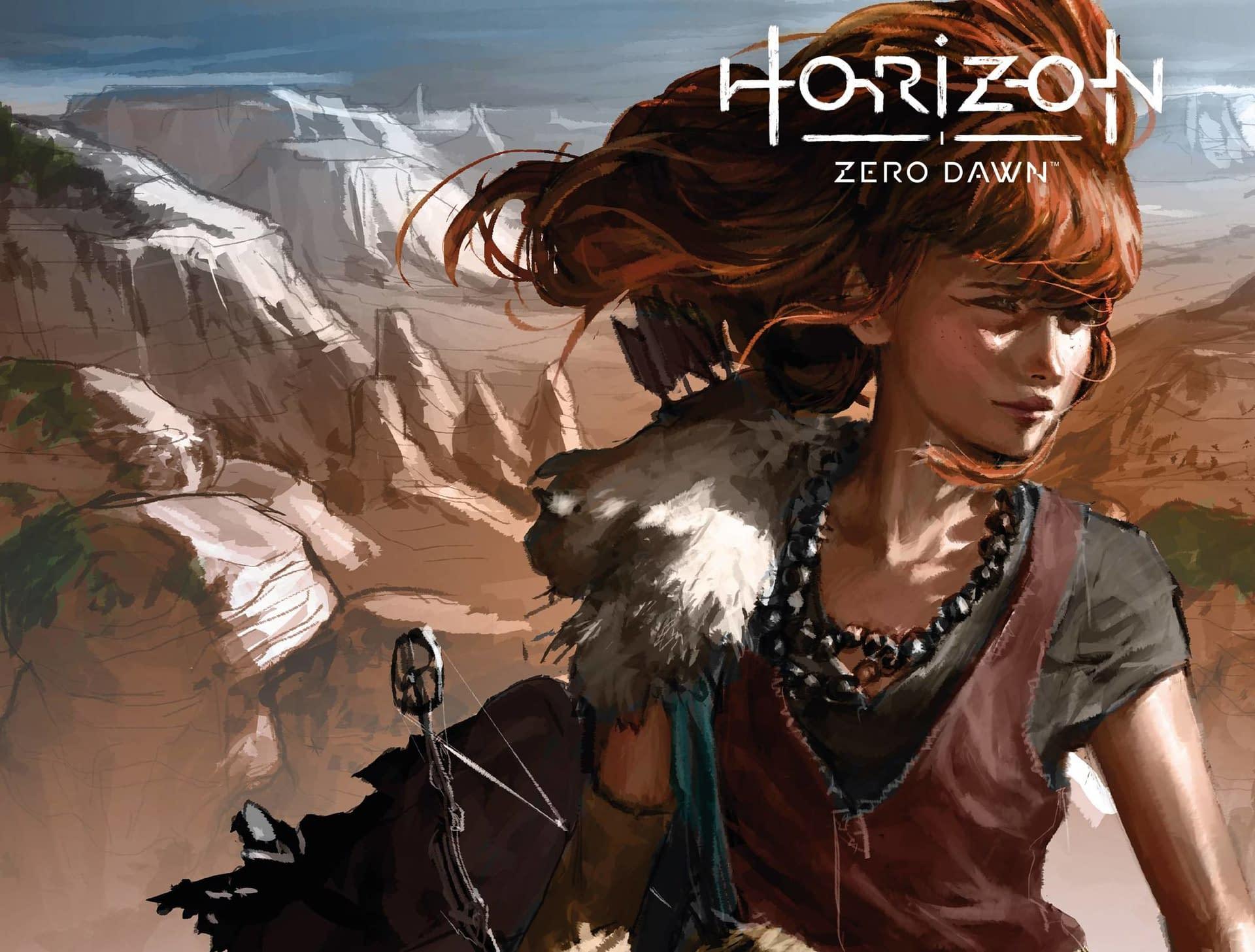 HORIZON ZERO DAWN LIBERATION #1 CVR B GAME ART