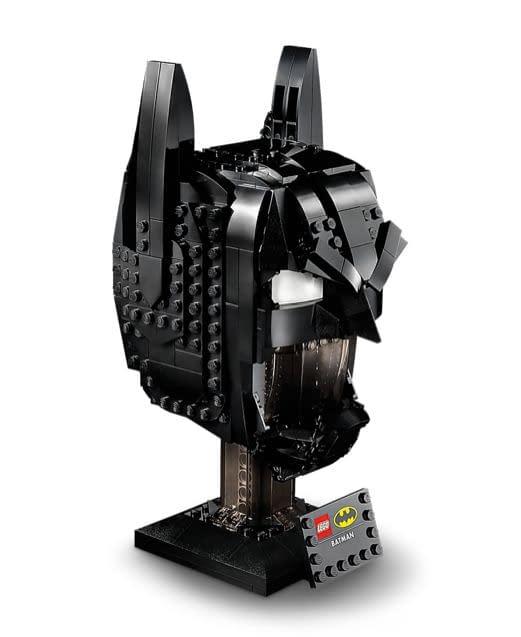 Build The Batman Cowl With LEGO's Newest Helmet Model Set