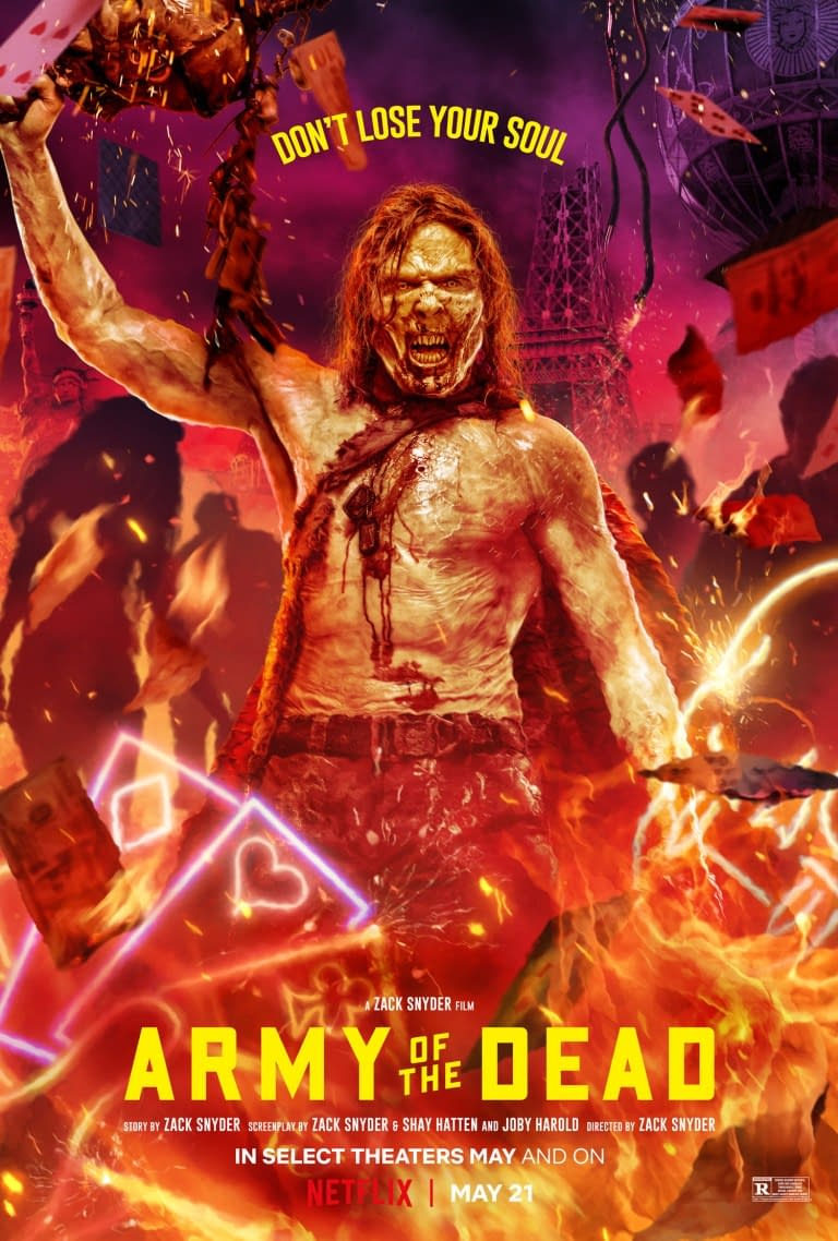 Army Of The Dead Unleashes Twelve New Character Posters