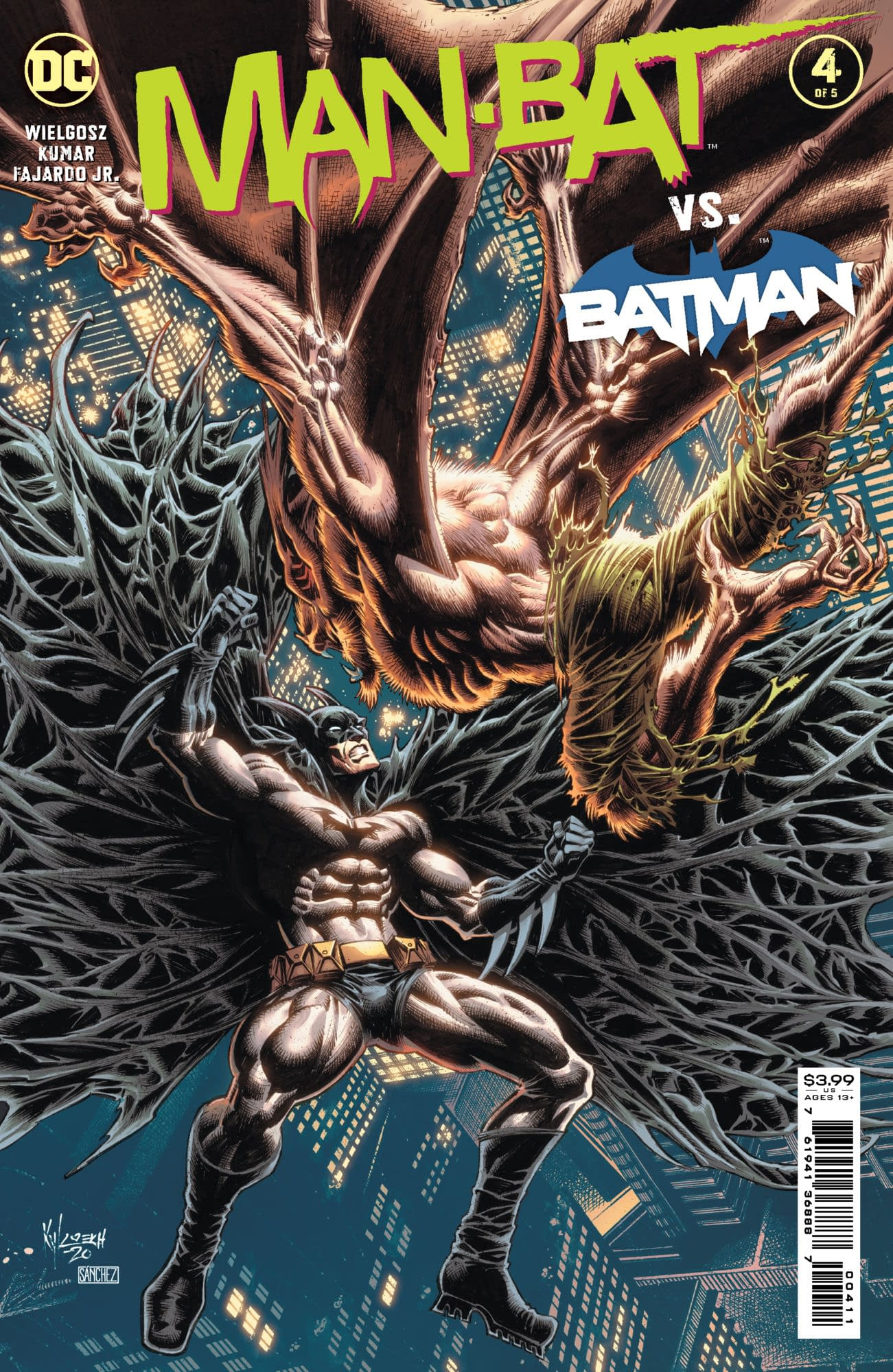 Cover image for MAN-BAT #4 (OF 5)