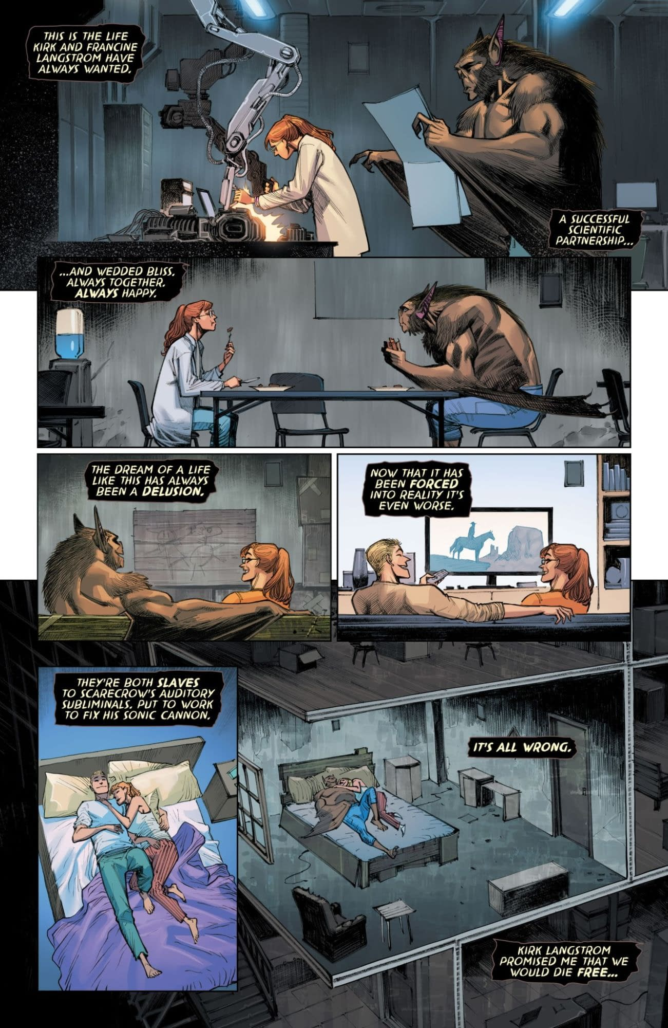 Interior preview page from MAN-BAT #4 (OF 5)