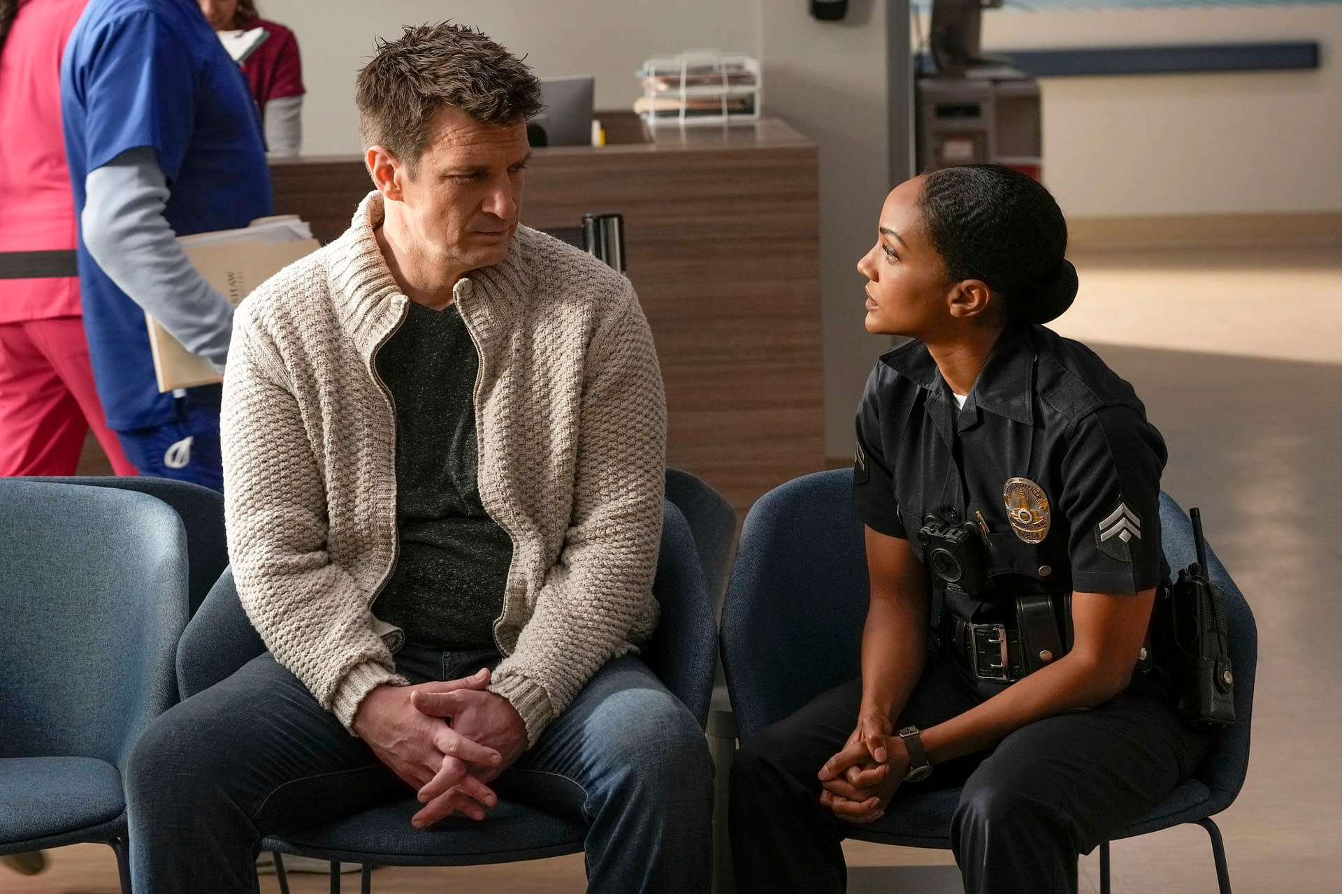 Dating michelle fillion chapman nathan 'The Rookie'