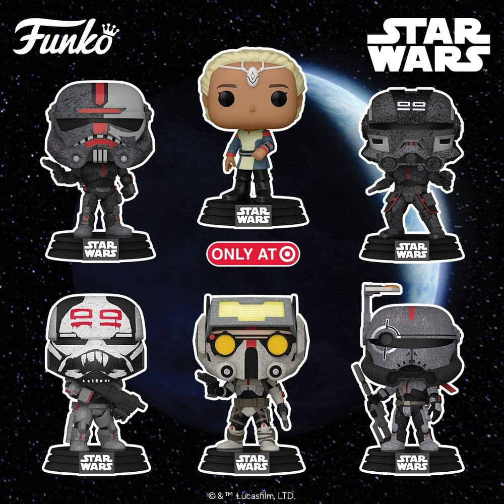 Funko Debuts New Star Wars Pops With The Bad Batch and Gaming