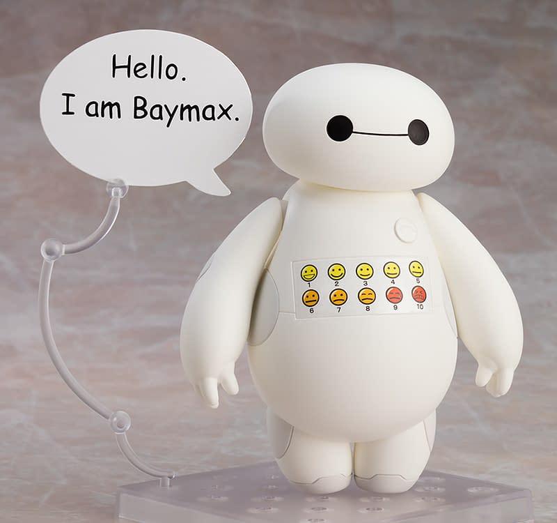 Big Hero 6 Baymax Wants to Help With New Good Smile Company Figure