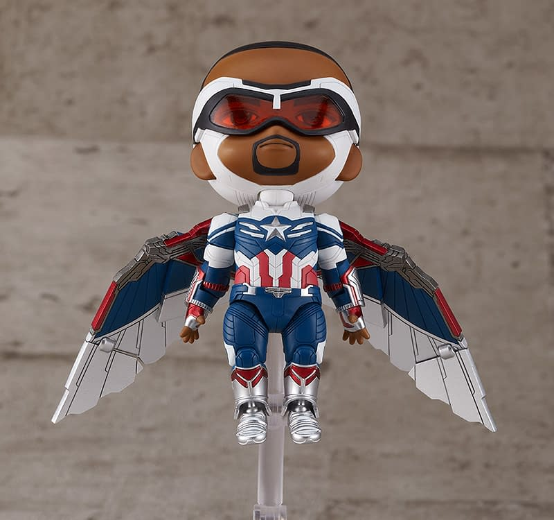 Captain America Soars To The Rescue With New Good Smile Nendoroid