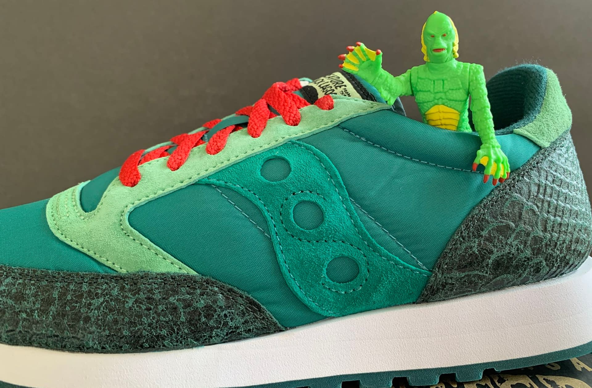 We Get Spooky With Super7 & Saucony's New Universal Monsters Shoes