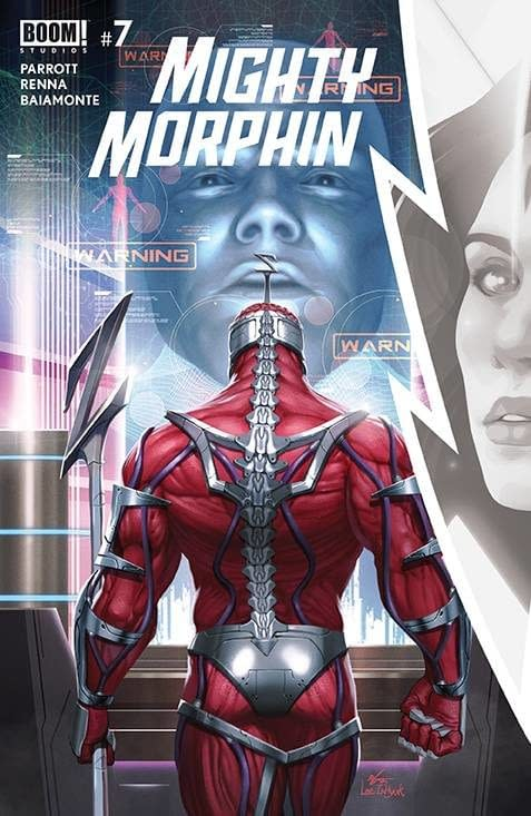 Cover image for MIGHTY MORPHIN #7 CVR A LEE