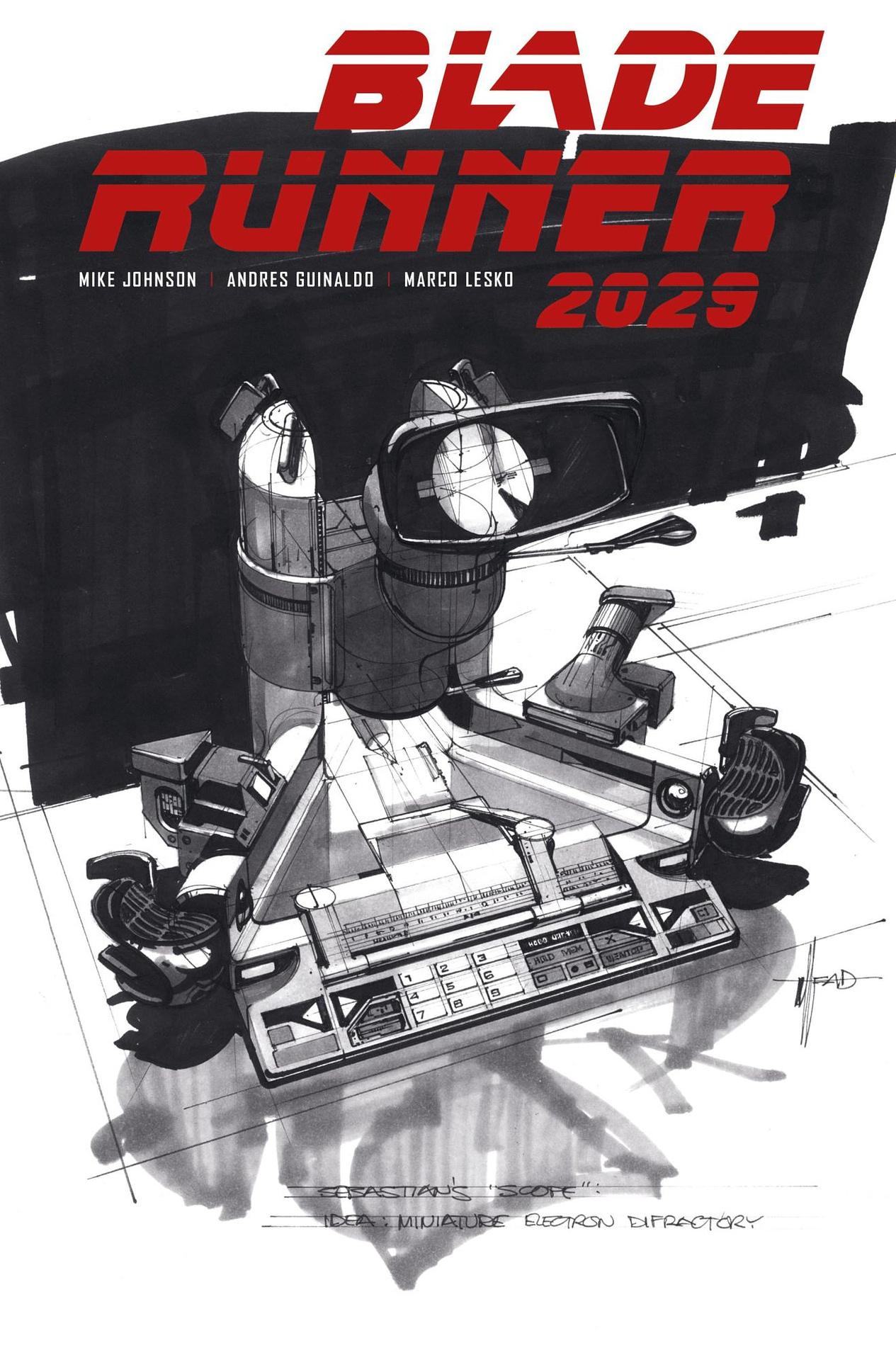 BLADE RUNNER 2029 #7 CVR B MEAD (MR)