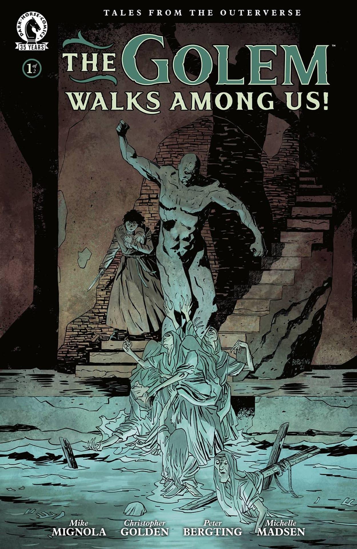 GOLEM WALKS AMONG US #1 (OF 2) CVR A BERGTING