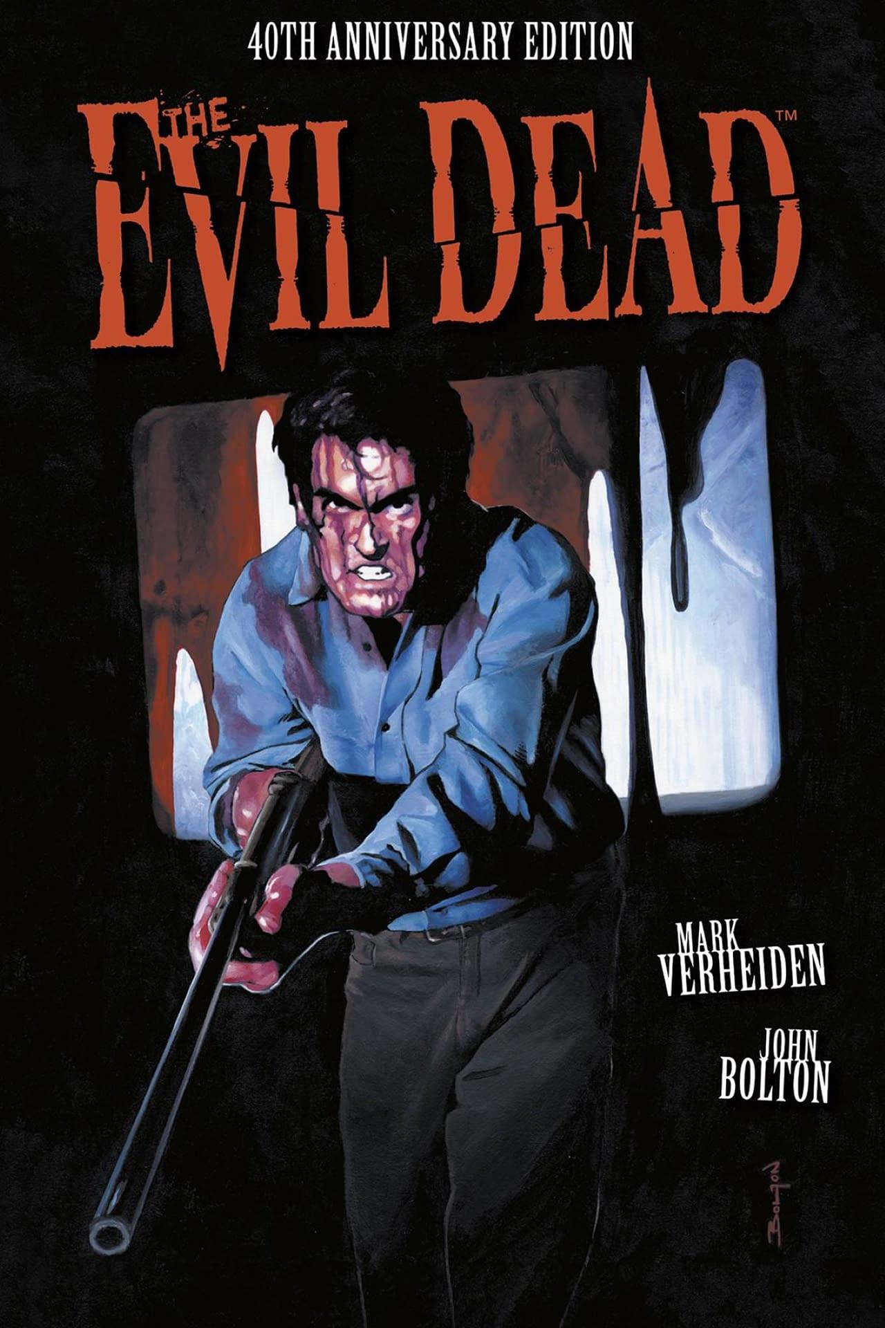 EVIL DEAD 40TH ANNIVERSARY ED HC (MR)