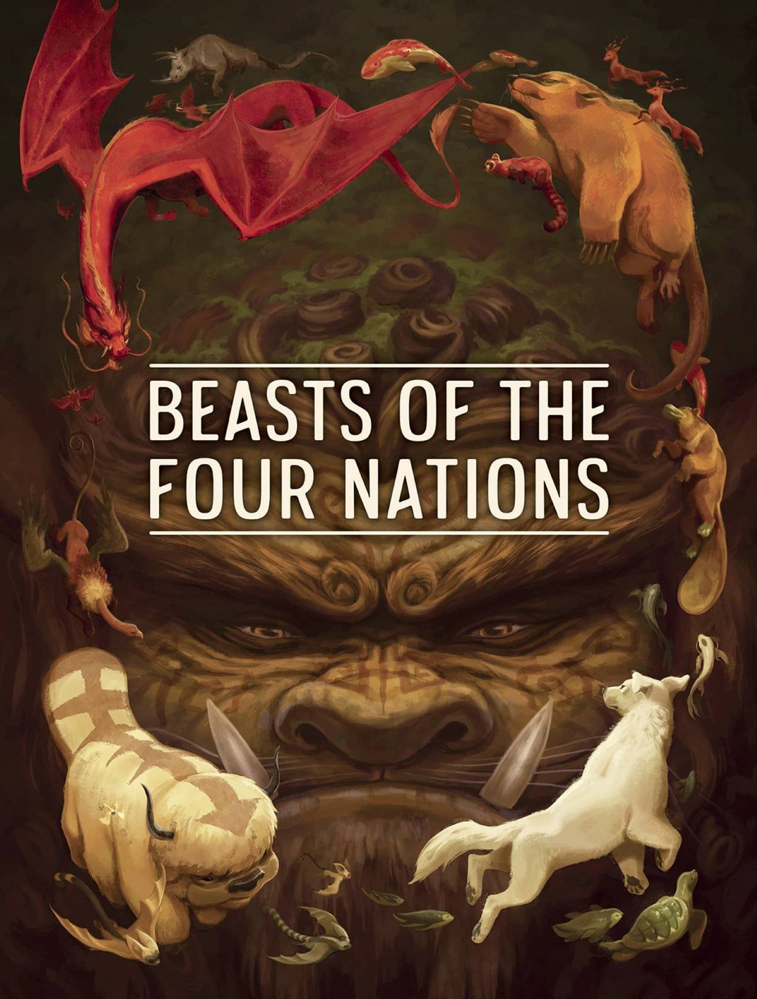 BEASTS OF 4 NATIONS CREATURES FROM AVATAR HC