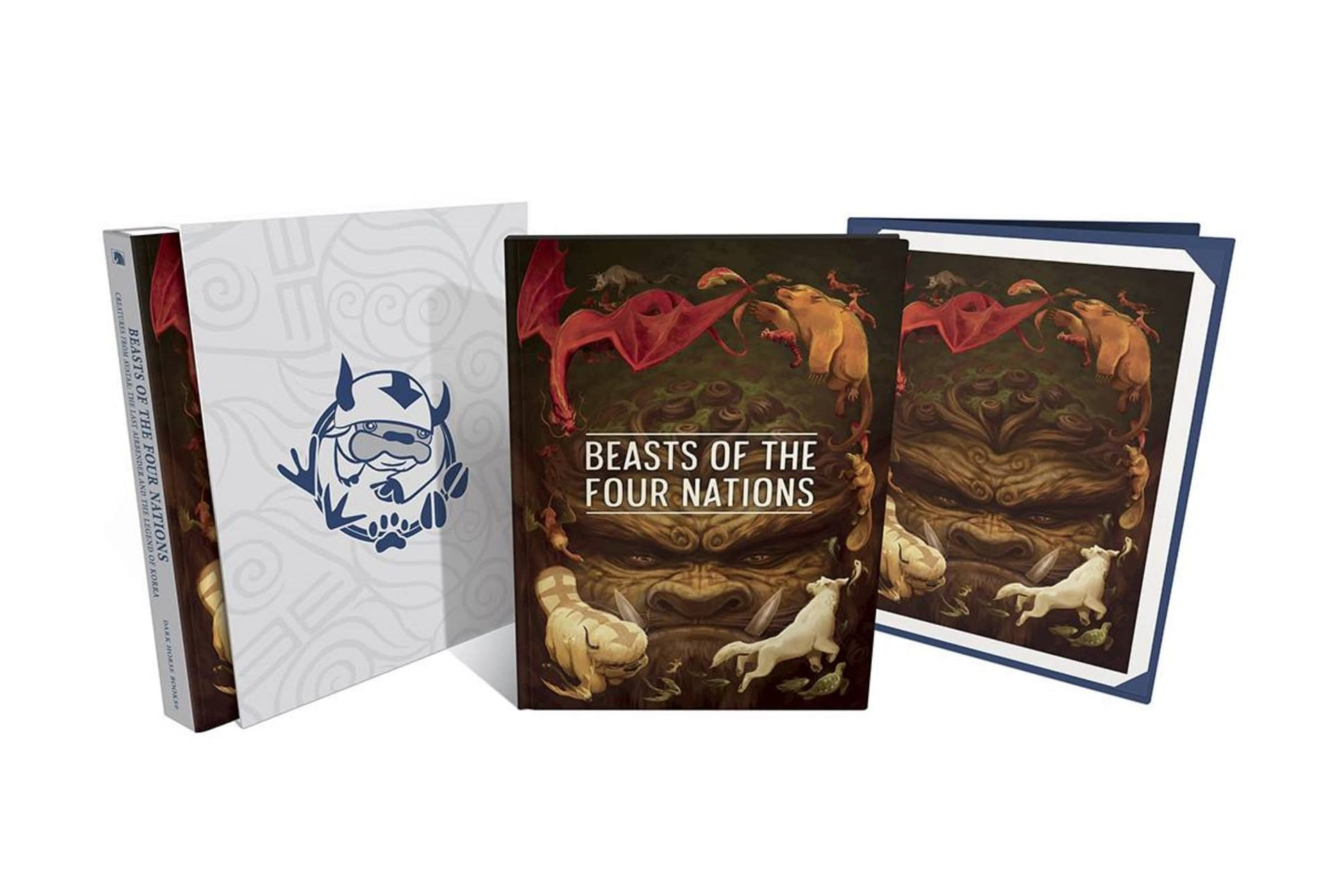 BEASTS OF 4 NATIONS CREATURES FROM AVATAR DLX HC
