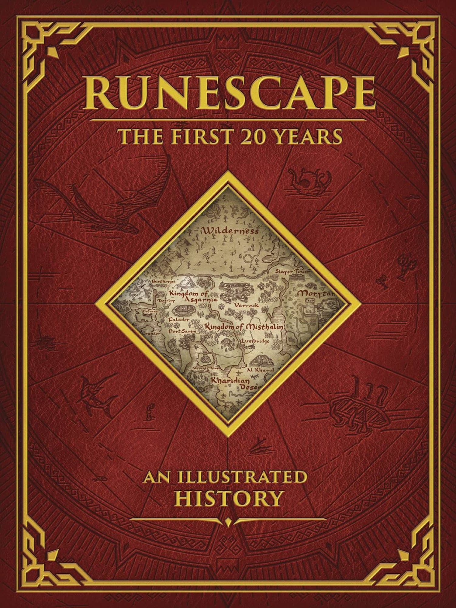 RUNESCAPE FIRST 20 YEARS AN ILLUSTRATED HISTORY HC