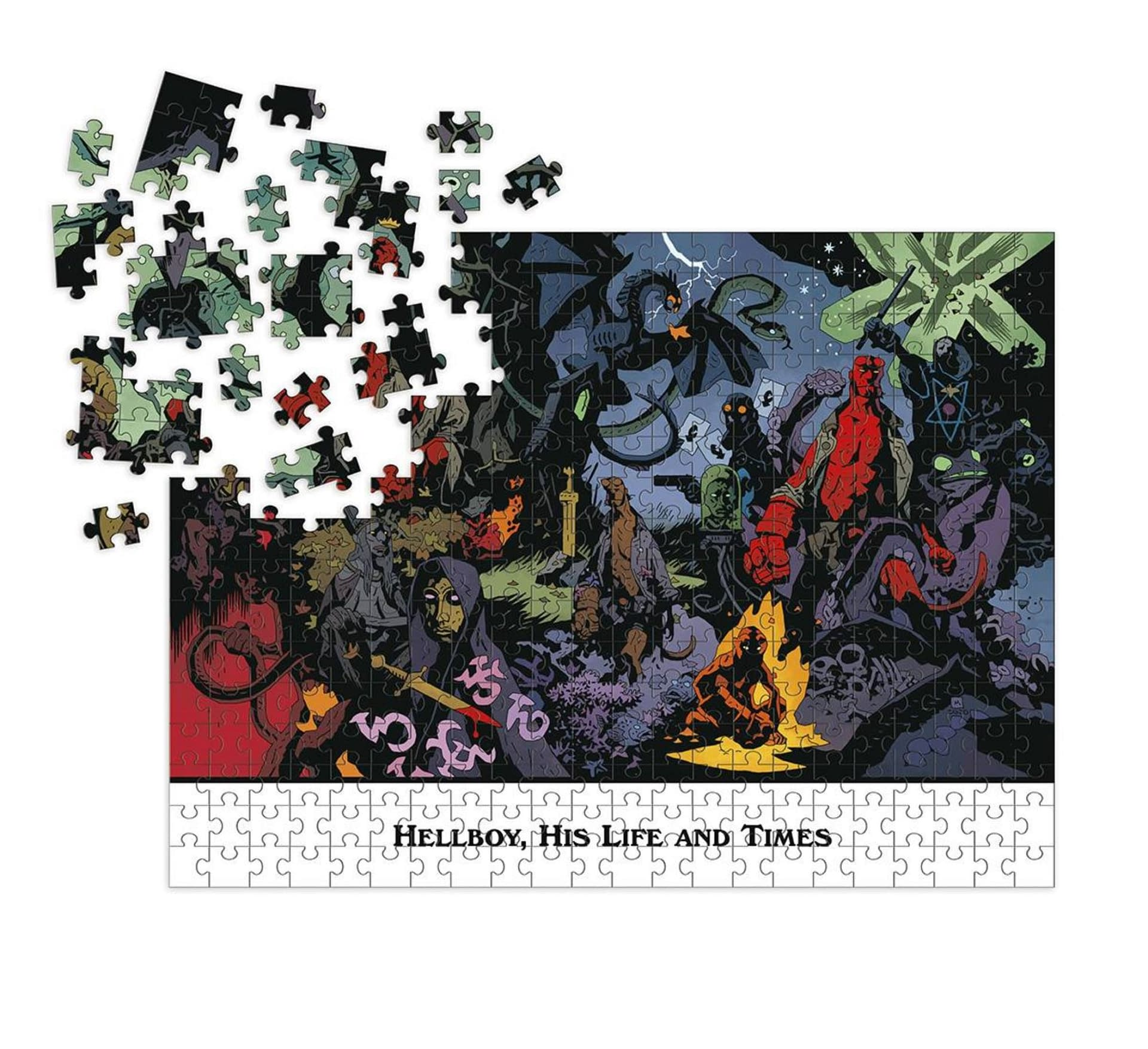 HELLBOY HIS LIFE AND TIMES PUZZLE