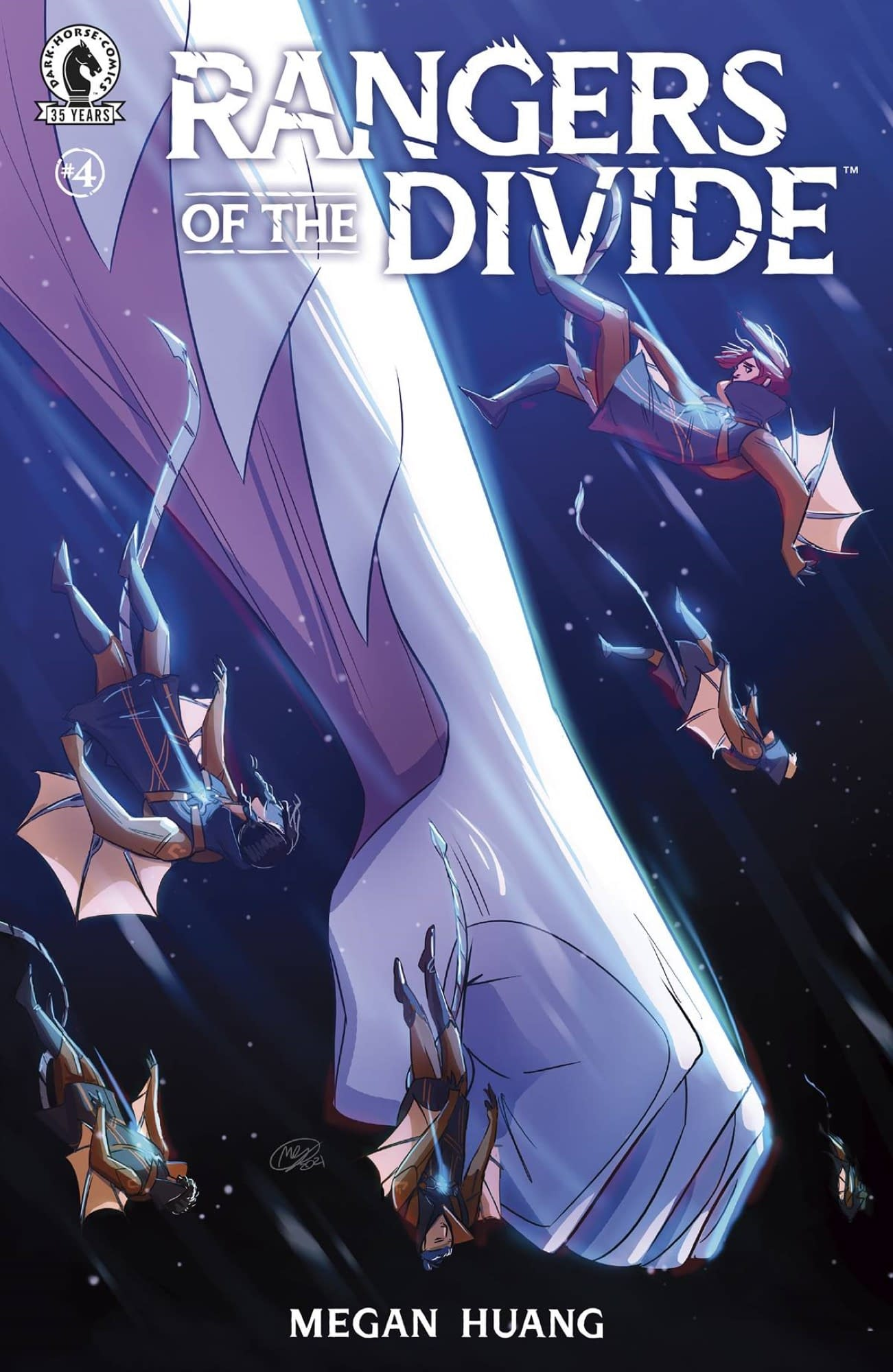 RANGERS OF THE DIVIDE #4 (OF 4)