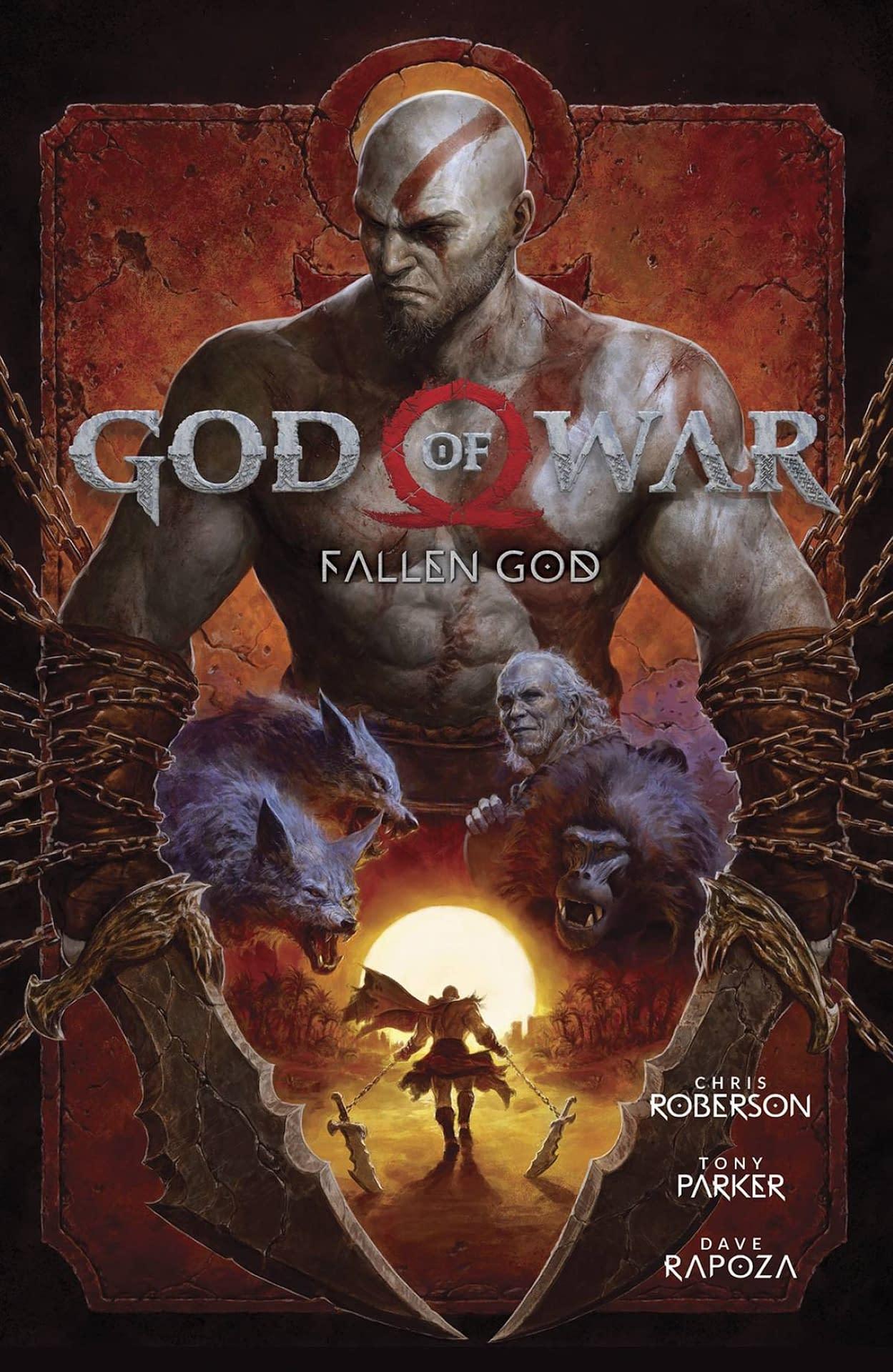 GOD OF WAR FALLEN GOD TP (MR)