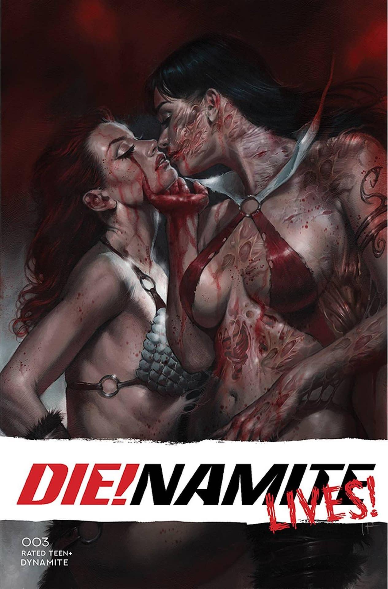 DIE!NAMITE LIVES #3 CVR A PARRILLO