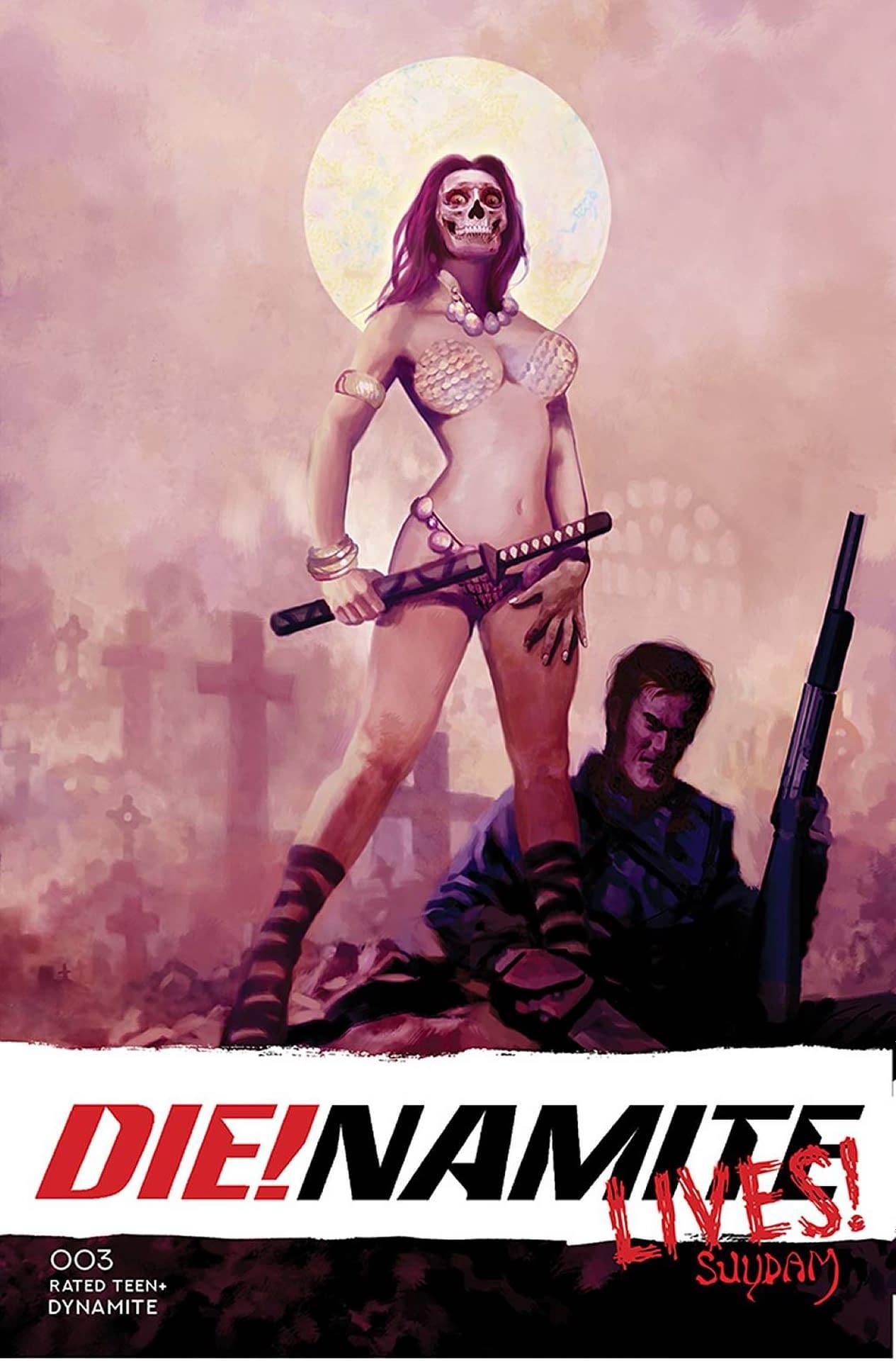 DIE!NAMITE LIVES #3 CVR B SUYDAM