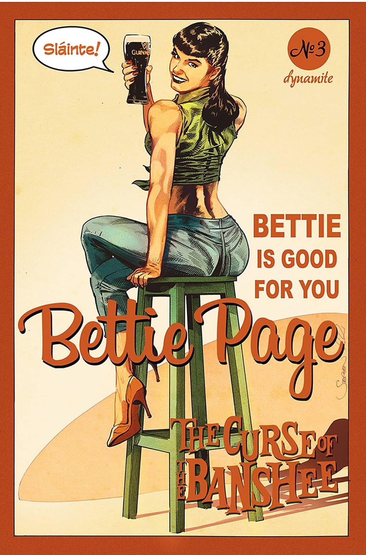 BETTIE PAGE & CURSE OF THE BANSHEE #3 CVR C MOONEY