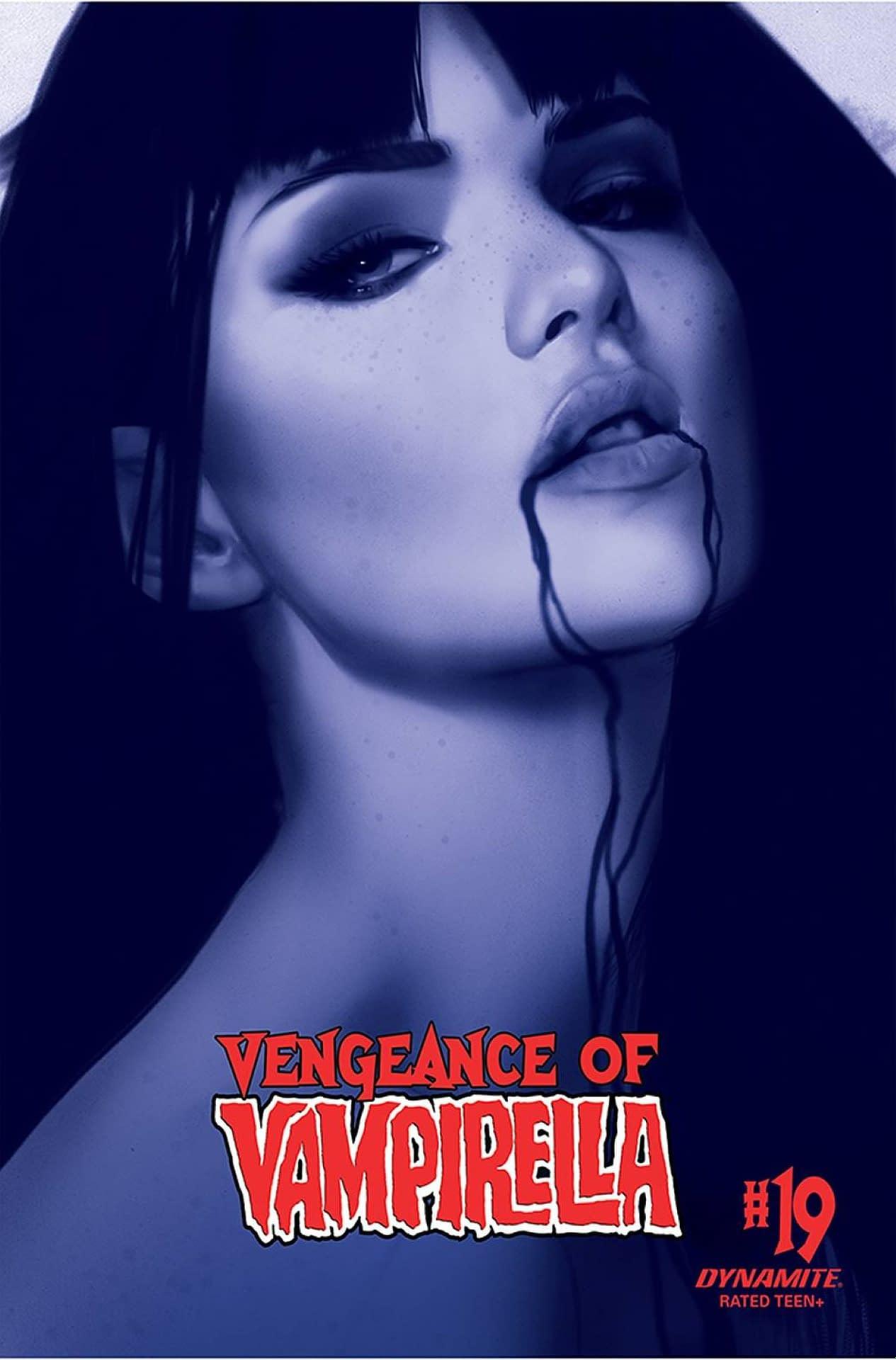 VENGEANCE OF VAMPIRELLA #21 CVR H 40 COPY INCV OLIVER TINT