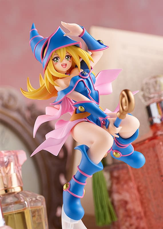 Good Smile Summons Dark Magician Girl To The Field With New Statue