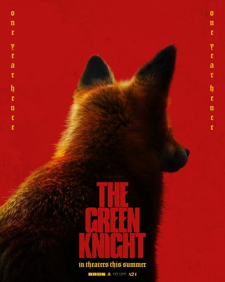 The Green Knight Gets Five New Character Posters Ahead Of Release