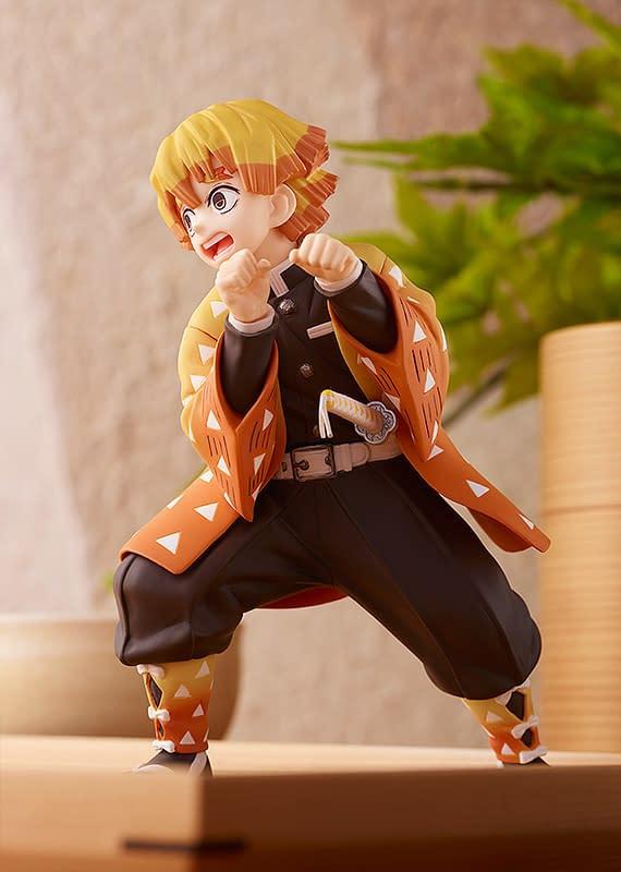 Demon Slayer Zanitsu Statue Coming Soon From Good Smile Company