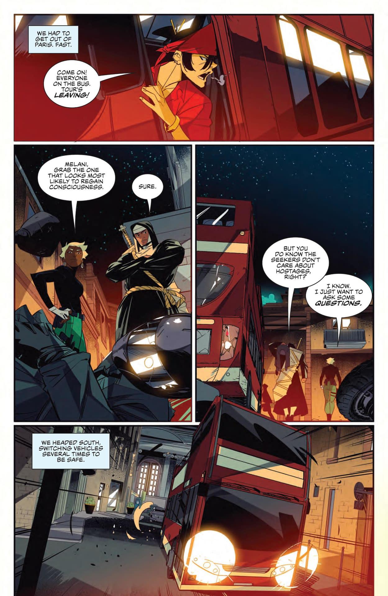 Interior preview page from SEVEN SECRETS #9 CVR A DI NICUOLO