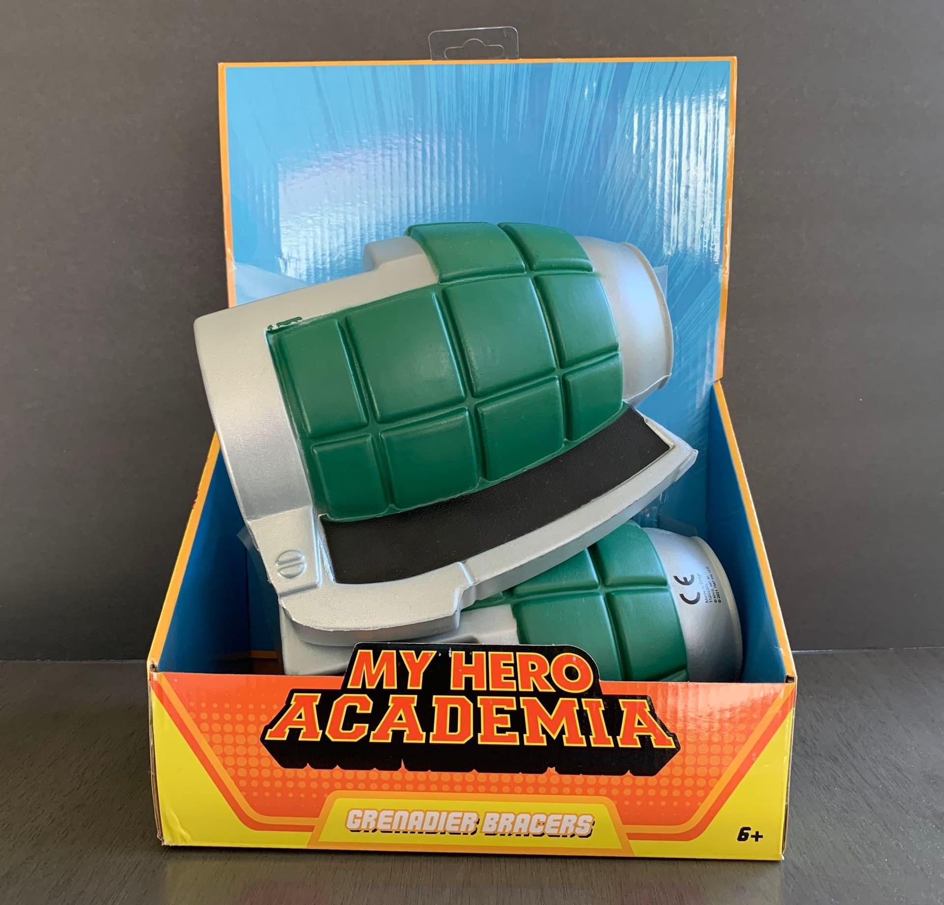 My Hero Academia Bakugo Gauntlets Are Perfect For Kiddos