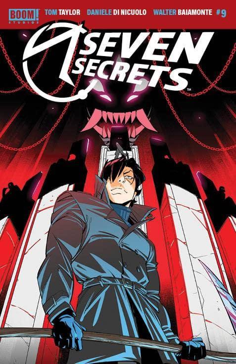 Cover image for SEVEN SECRETS #9 CVR A DI NICUOLO