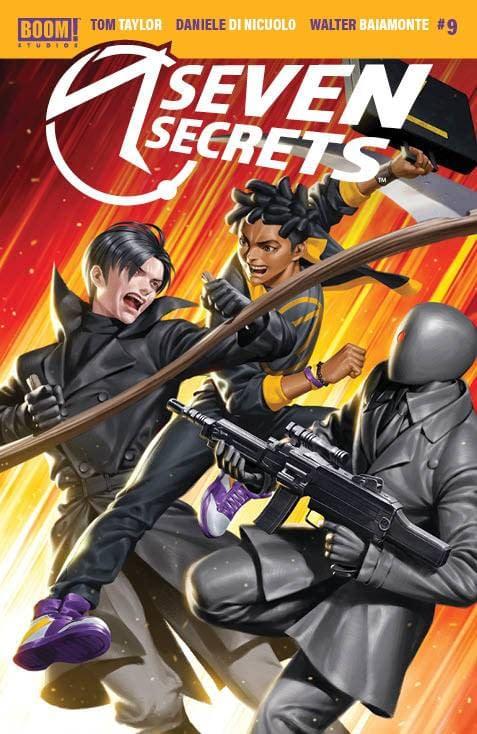 Cover image for SEVEN SECRETS #9 CVR B YOON