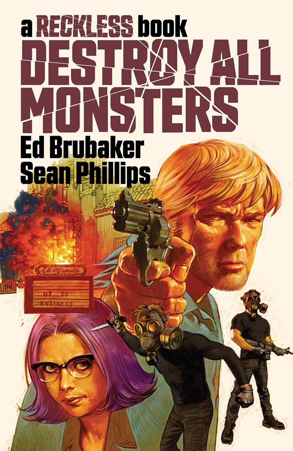 DESTROY ALL MONSTERS HC A RECKLESS BOOK (MR)