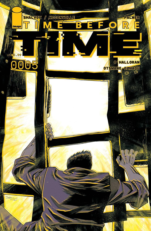 TIME BEFORE TIME #5 CVR A SHALVEY (MR)