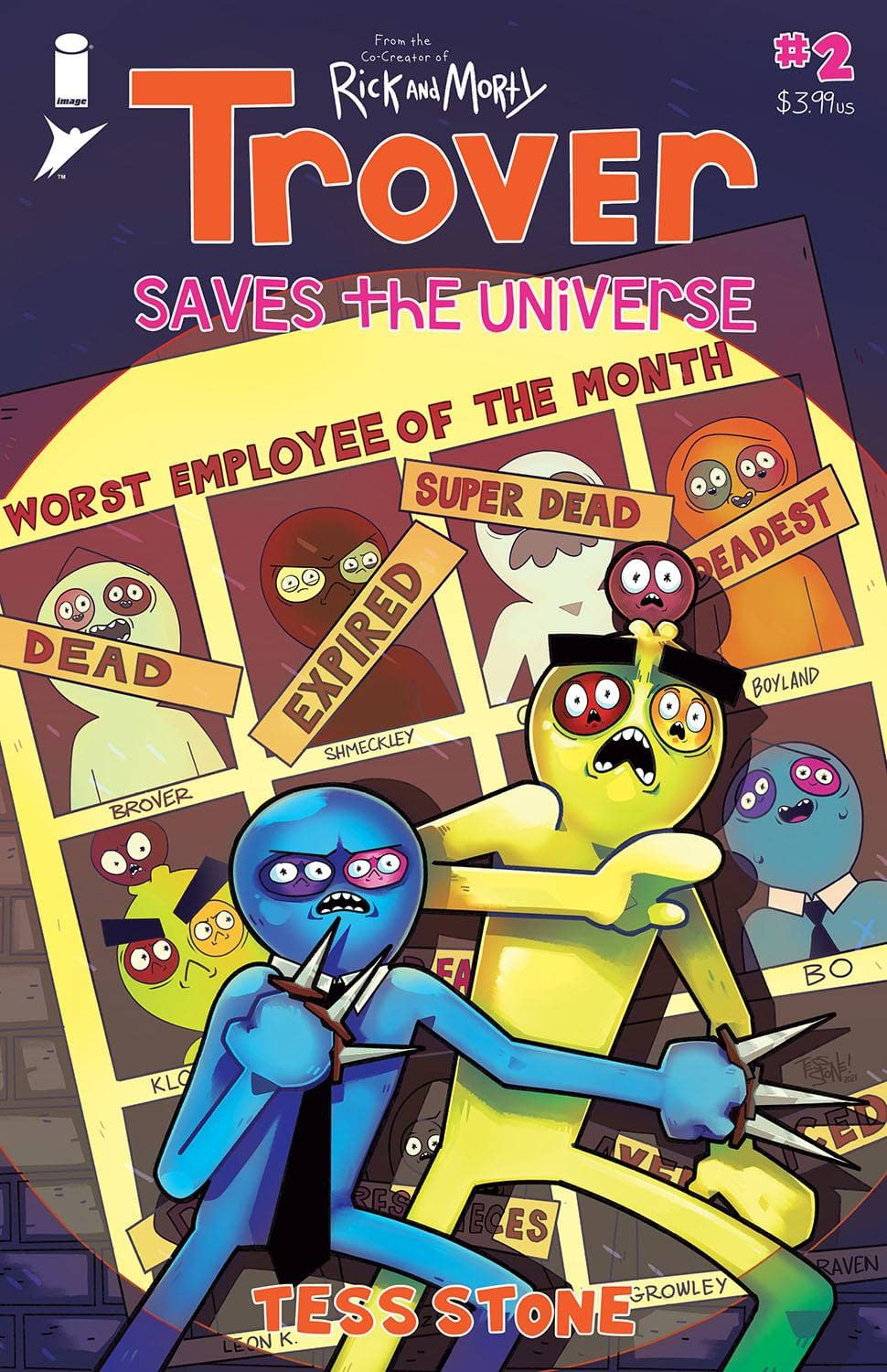 TROVER SAVES THE UNIVERSE #2 (OF 5) (MR)