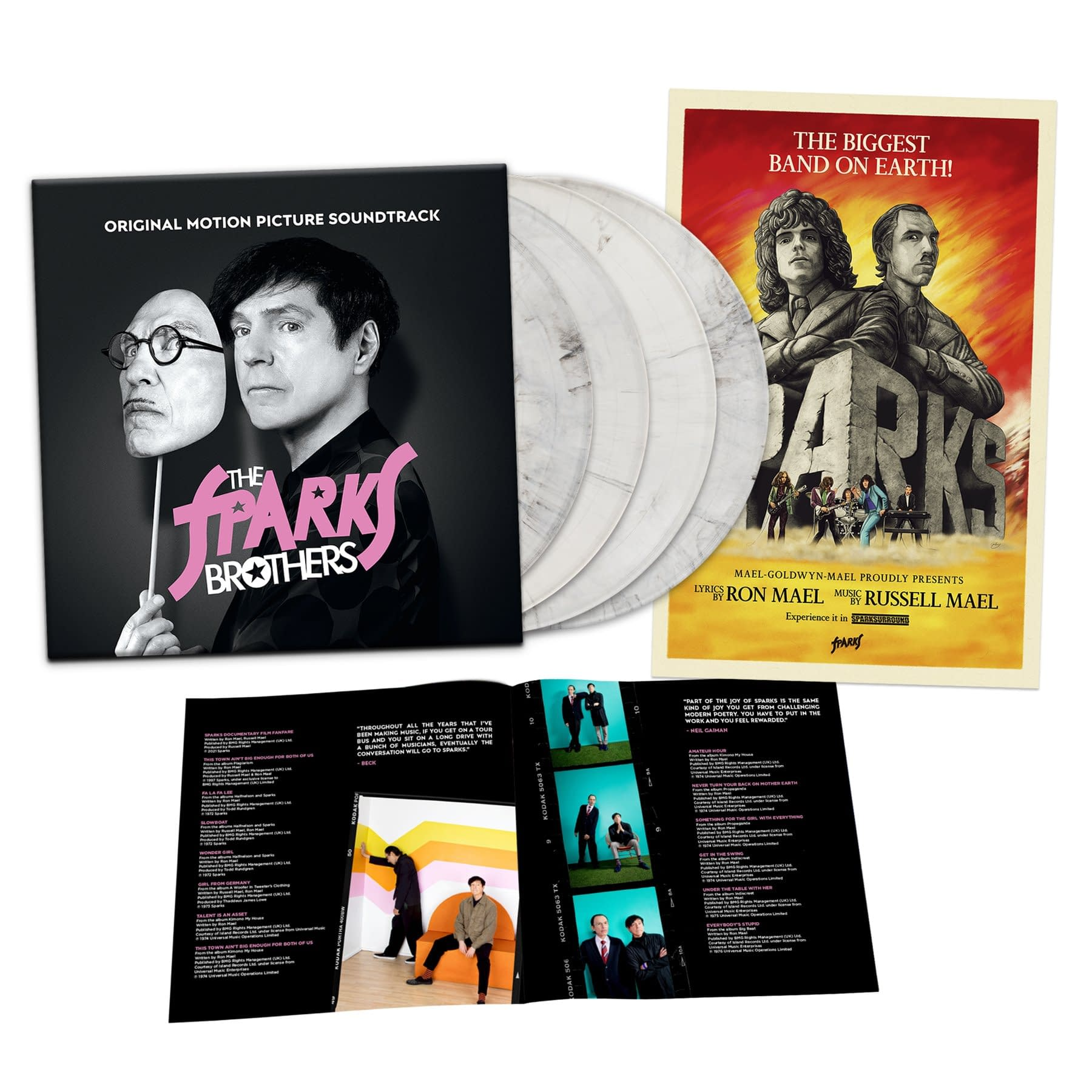 The Sparks Brothers Soundtrack Available Now From Waxwork Records