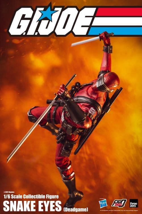 Snake Eyes Becomes Deadpool With threezero Deadgame Figure