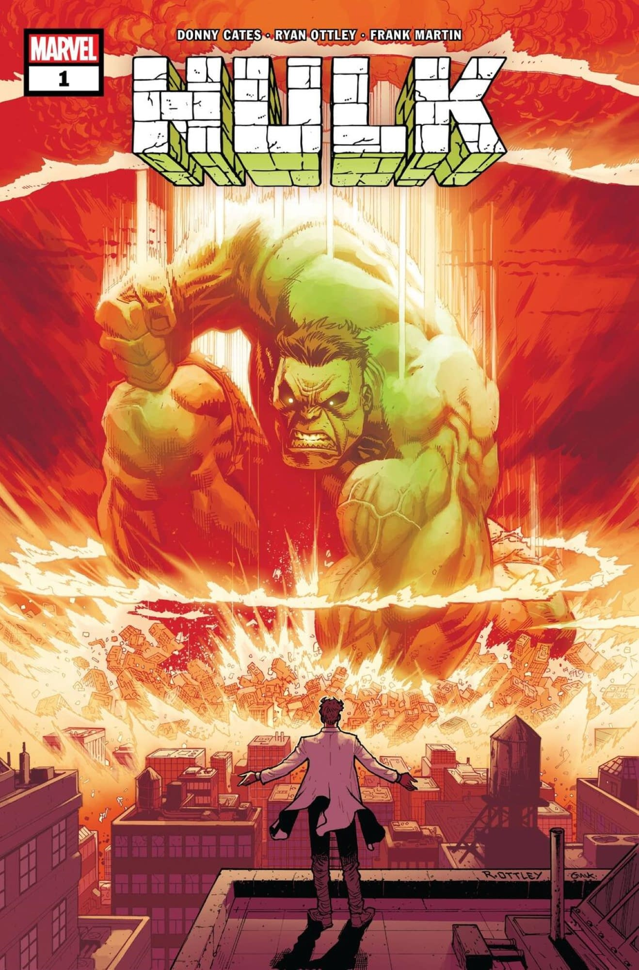 Donny Cates and Ryan Ottley Take Over Hulk Comic in November